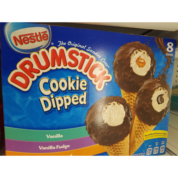 Drumstick Cookie Dipped