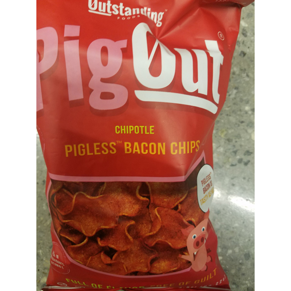Pigout Pigless Bacon Chips